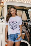 Easy Tiger White Graphic Tee