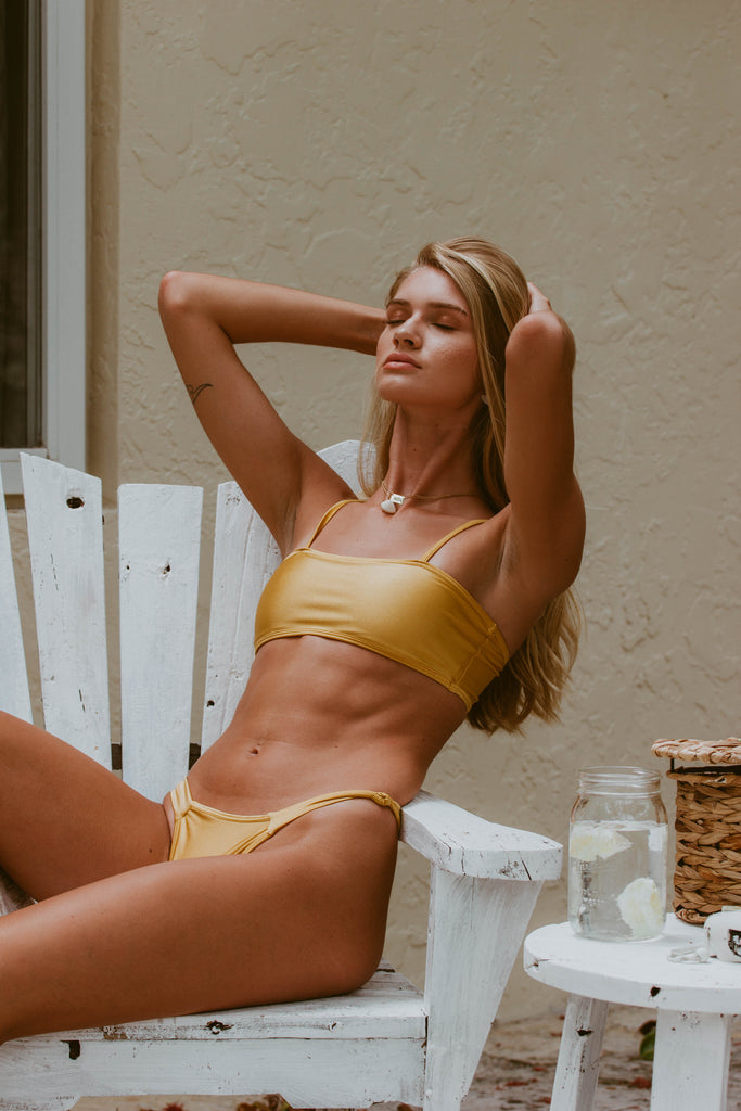 Willow Gold Bikini Set