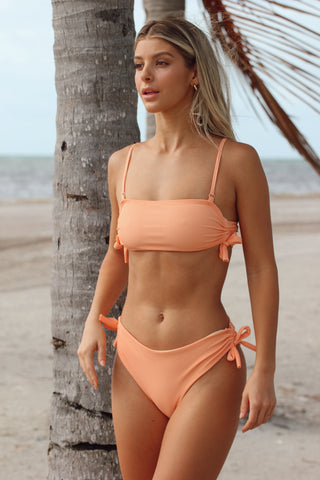 Mikayla Coffee Brown Bikini Set