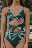 Kalina Black Floral One Piece