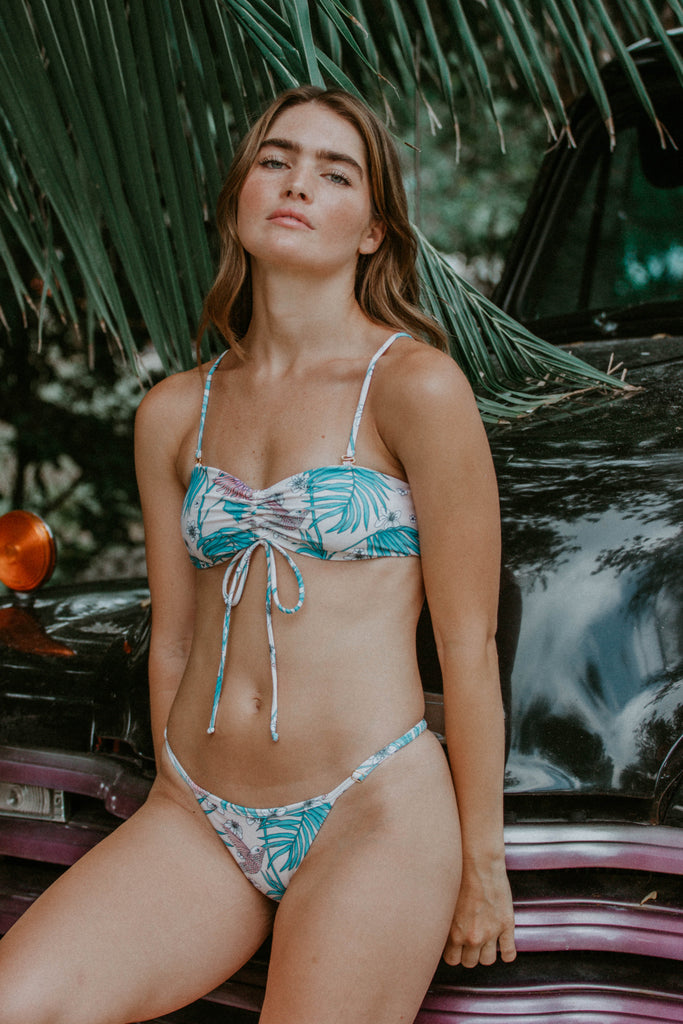 Aster Blue Bird Bikini Set