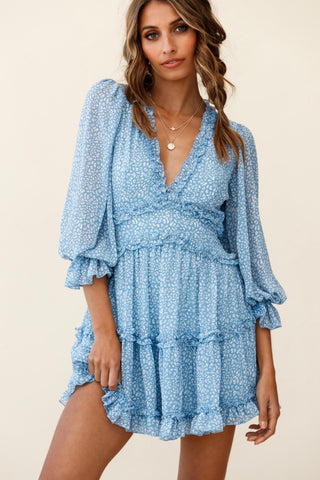 Boardwalk Breeze Smocked Skirt