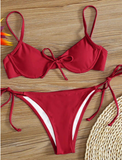 Cancun Red Bikini Set