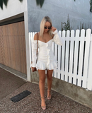 Lottie White Dress