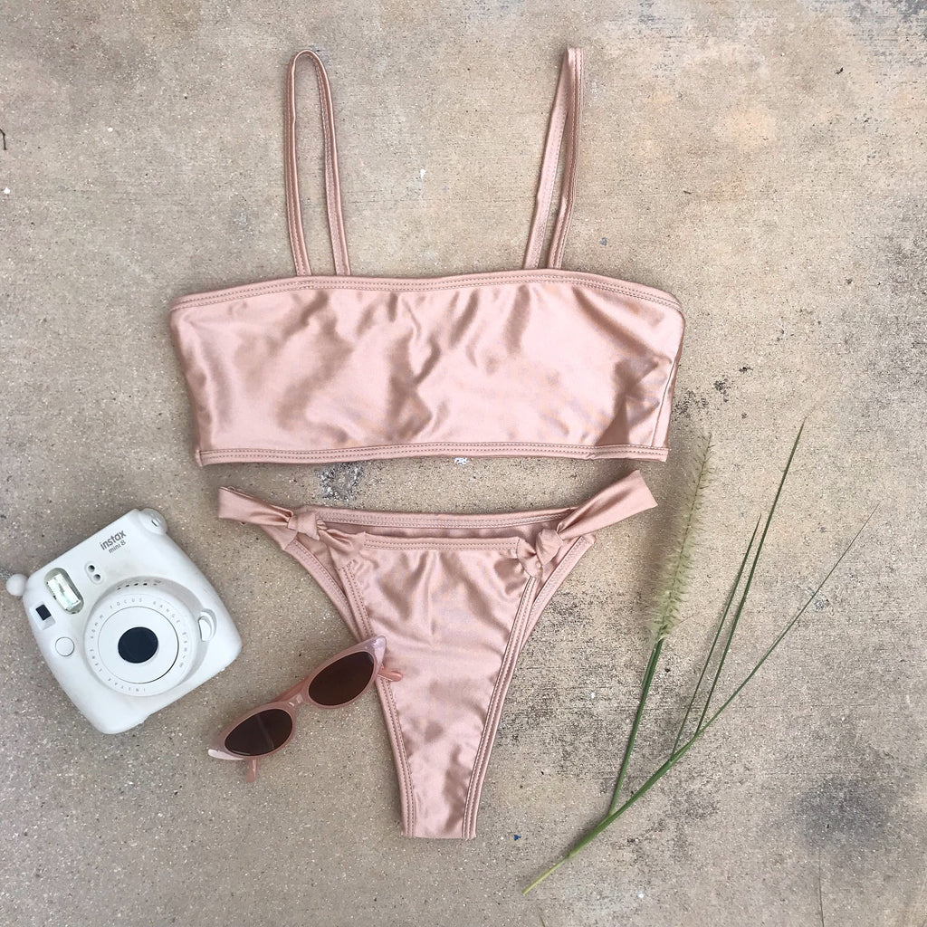Willow Champagne Bikini Set