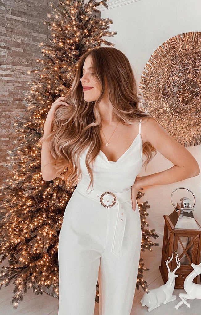 Rodeo Drive Cowl Neck Jumpsuit