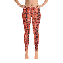 Load image into Gallery viewer, Red Sneaky One Low-Rise Leggings
