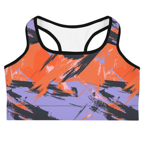 Retro Pop Sports Bra