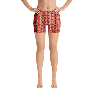 Red Sneaky One Low-Rise Shorts