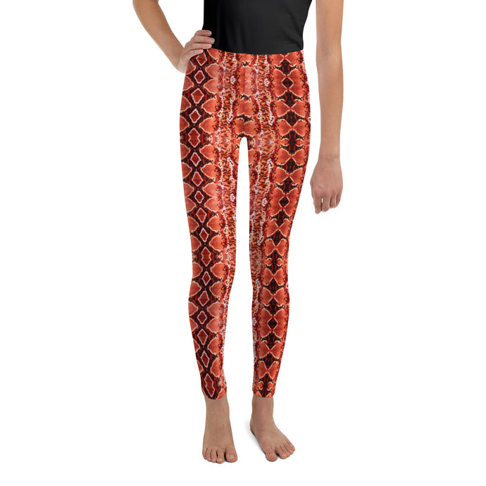 Orange Blaze Sneaky One Kid's Leggings