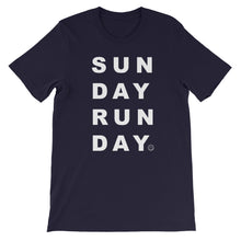 Load image into Gallery viewer, Sunday Runday Unisex T-Shirt