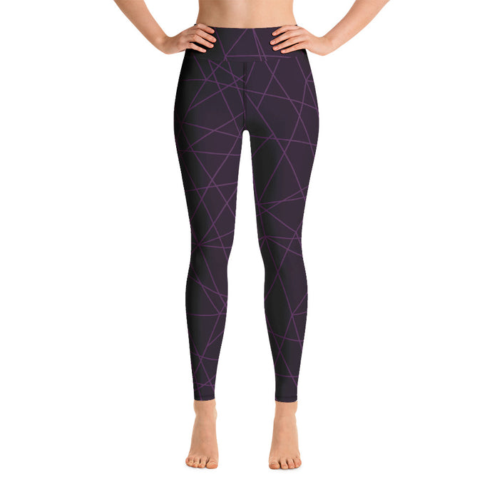 Purple Lasers Leggings