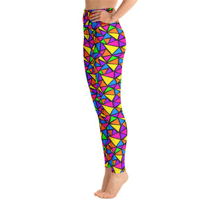 Neon Dreams Yoga Leggings
