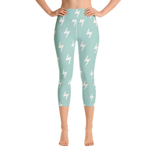 Lazy Lightning Yoga Capris