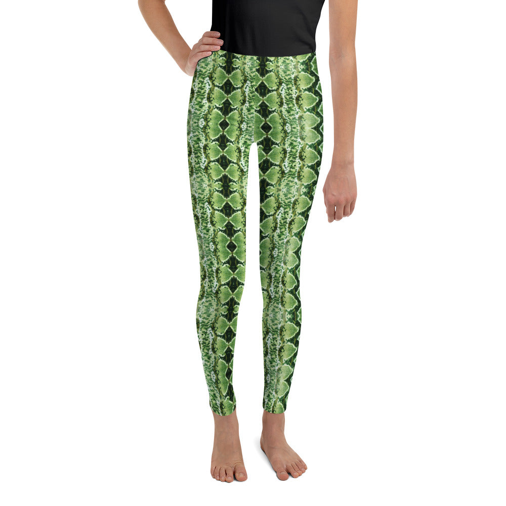 Green Grass Sneaky One Kid's Leggings
