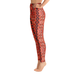 Red Sneaky One Yoga Leggings