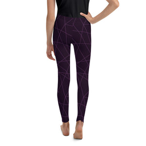 Purple Lasers Kid's Leggings