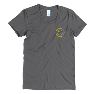Women's Micro Spread Smiles T-Shirt