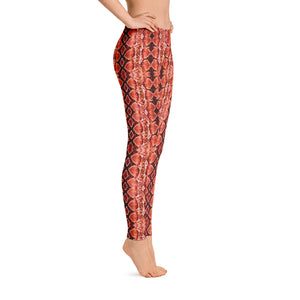 Red Sneaky One Low-Rise Leggings
