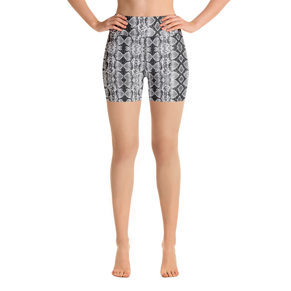 Chrome Sneaky One Yoga Shorts
