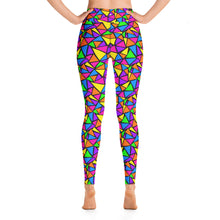 Load image into Gallery viewer, Neon Dreams Yoga Leggings