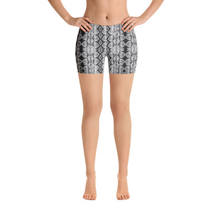 Chrome Sneaky One Low-Rise Shorts