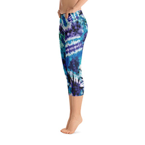 Psychedelic Vibes Capris