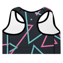 Load image into Gallery viewer, '90s Neon Sports Bra