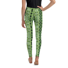 Load image into Gallery viewer, Green Grass Sneaky One Kid's Leggings