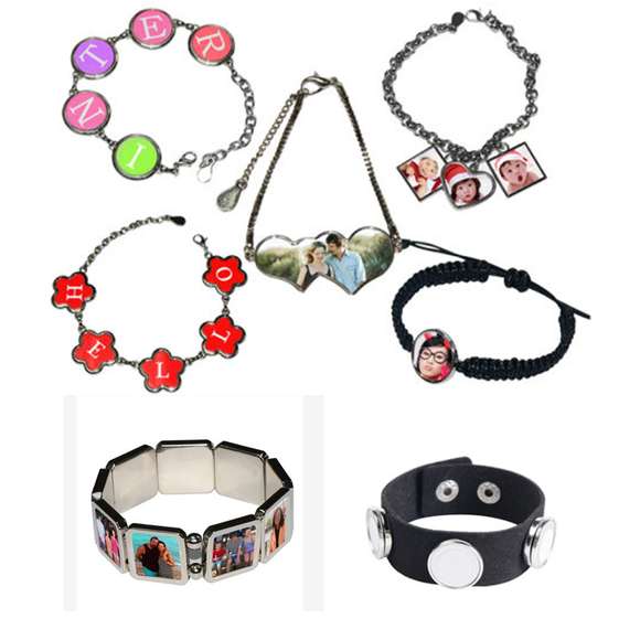 Bracelet personnalisable photos logos textes etc.....