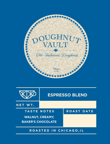 Doughnut Vault Espresso Blend(Available to This Customer Only)