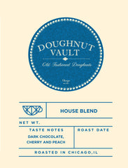Doughnut Vault House Blend (Available to this Customer Only)