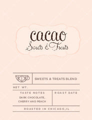 Cacao Sweets & Treats (Available to this customer only)