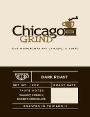 Chicago Grind Dark - AVAILABLE TO THIS CUSTOMER ONLY