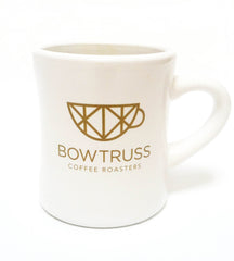 White Bow Truss Diner Mug