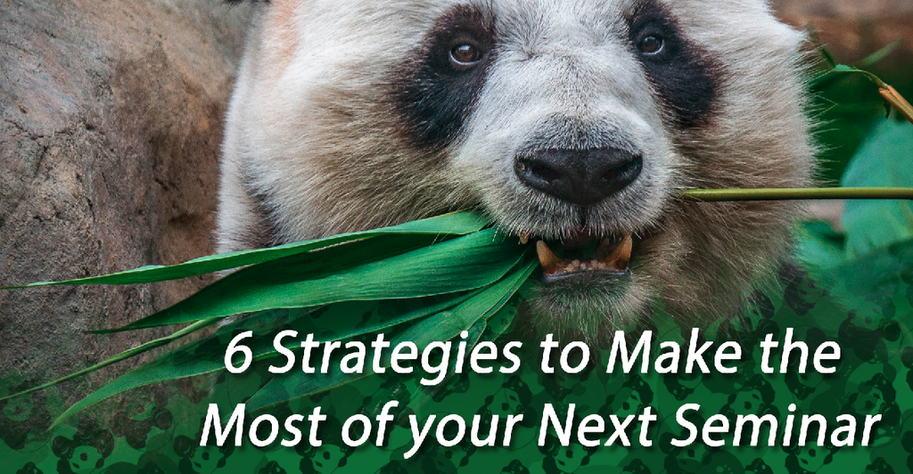 6 Strategies to Make the Most of your Next Seminar