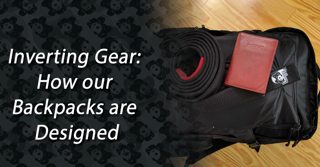 Inverting Gear: How our  Backpacks are Designed