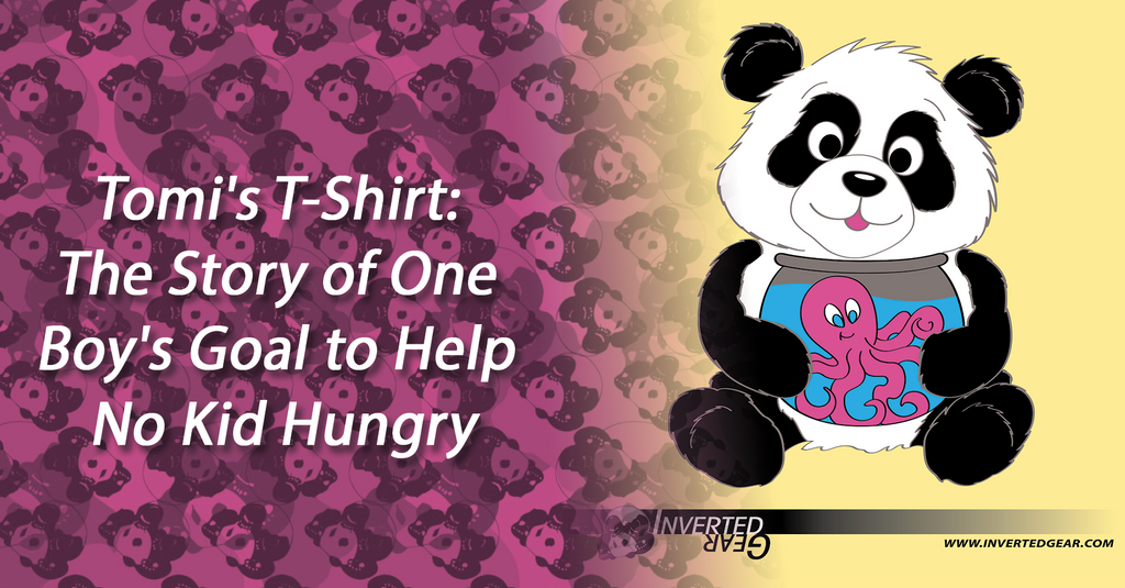 Tomi's T-Shirt: The Story of One Boy's Goal to Help No Kid Hungry