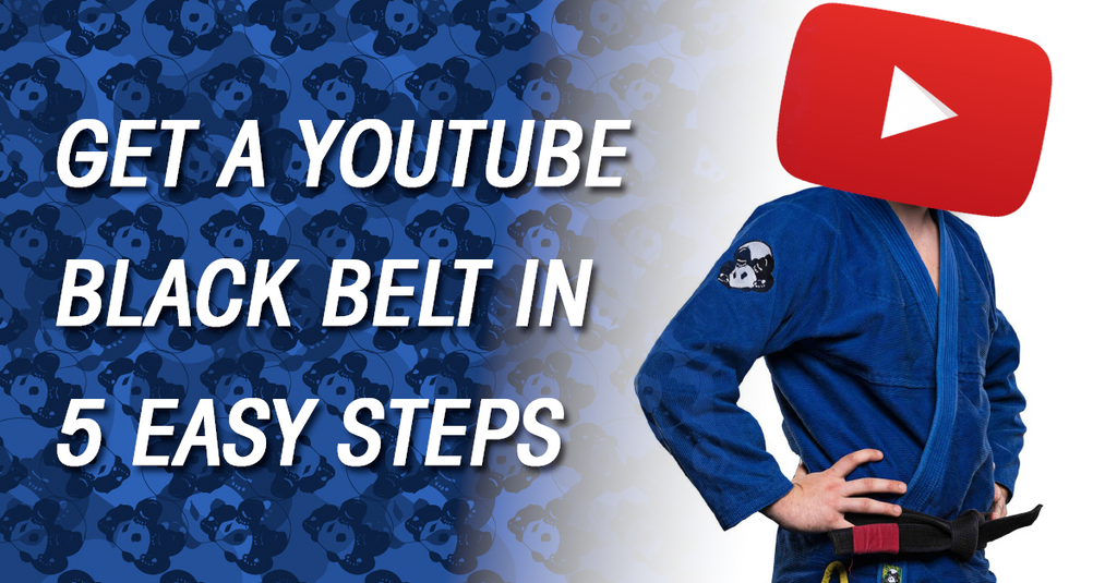 Earn Your Black Belt from YouTube in 5 Easy Steps
