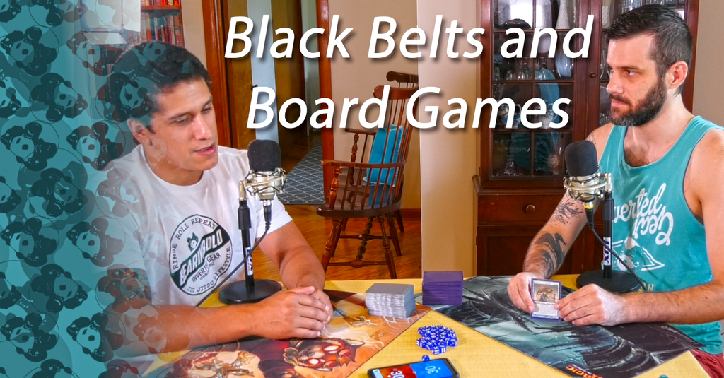 Black Belts and Board Games Episode 1: Reaps and Gi vs. No-Gi