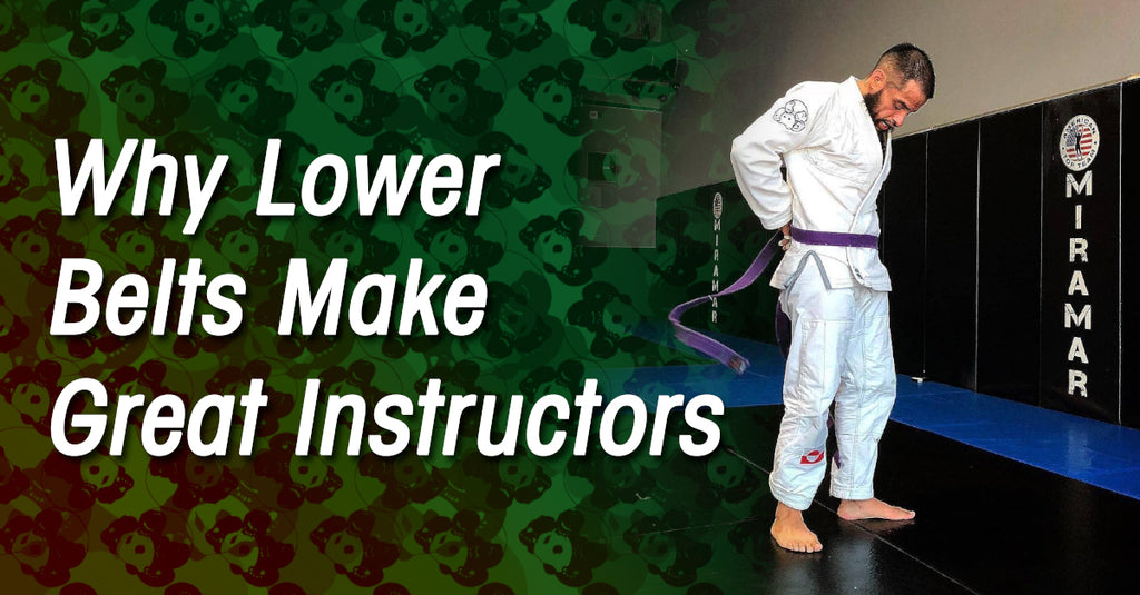 Why Lower Belts Make Great Instructors