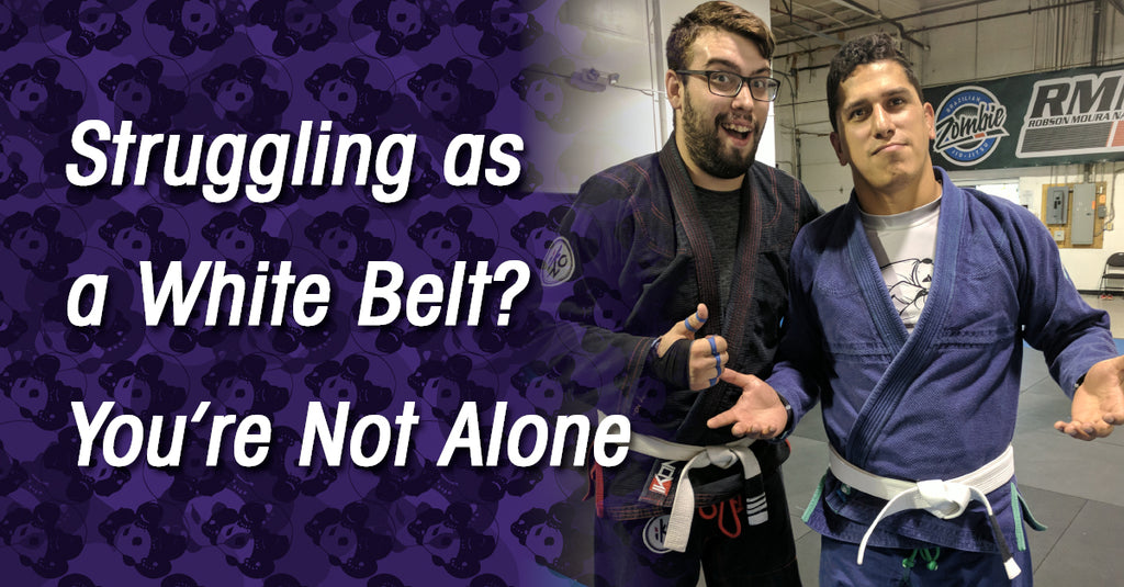 The White Belt Struggle: How to Push Through It