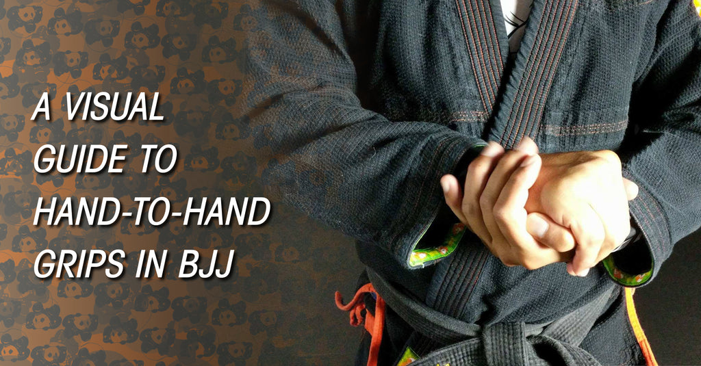 A Visual Guide to Hand-to-Hand Grips in BJJ – Inverted Gear