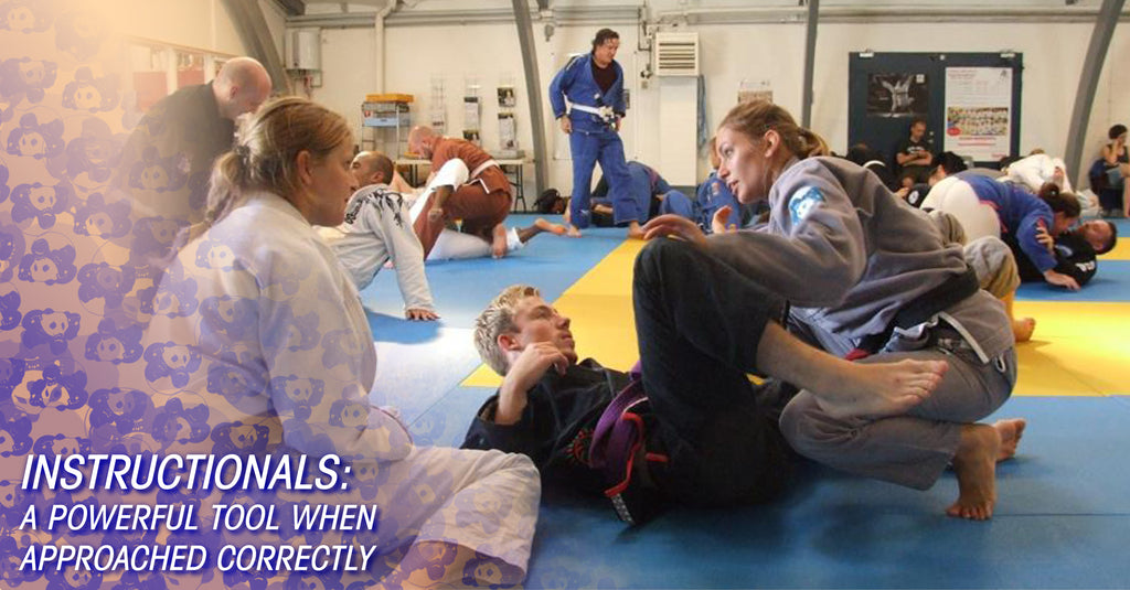 How to Use BJJ Instructionals – Inverted Gear