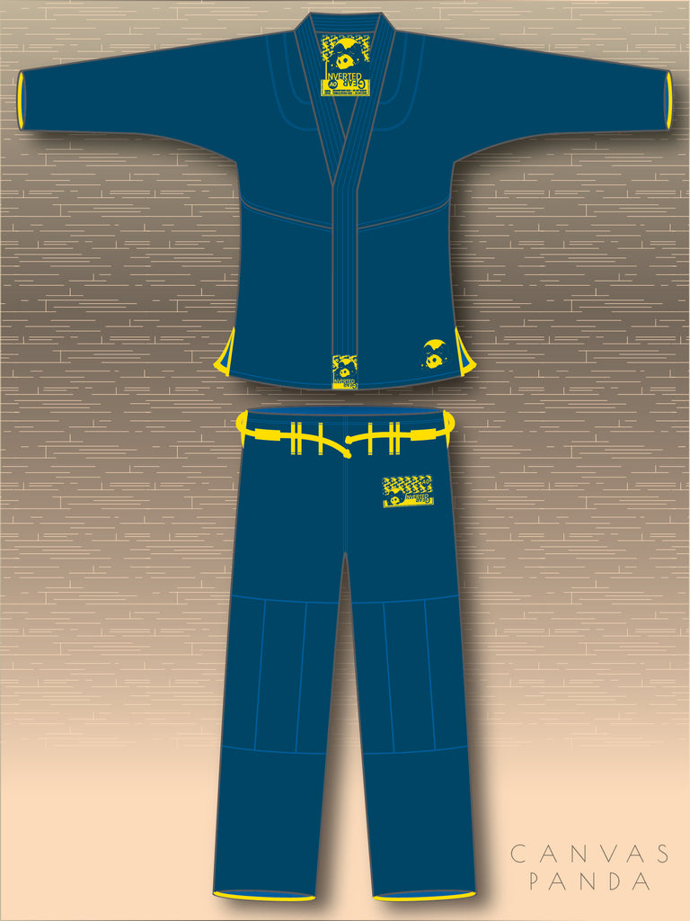 Navy Canvas Gi