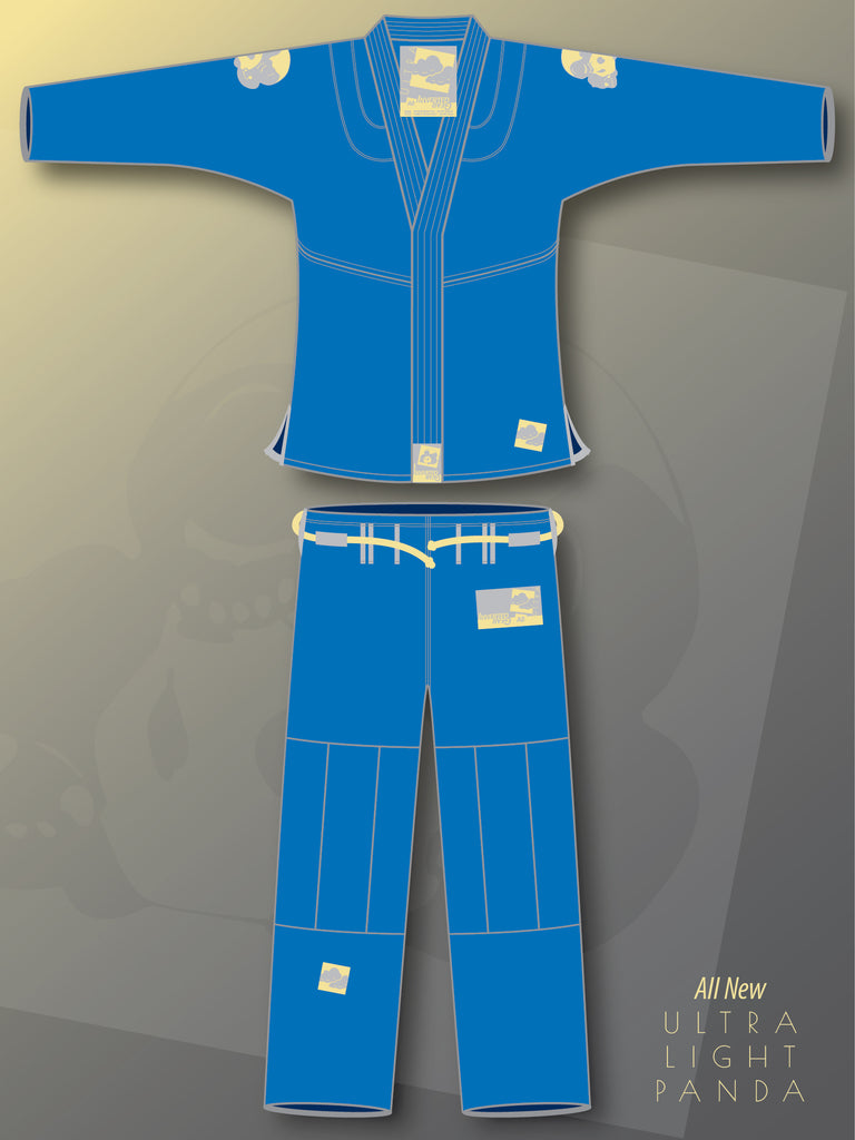 Blue Ultra Light Pearl Weave Gi