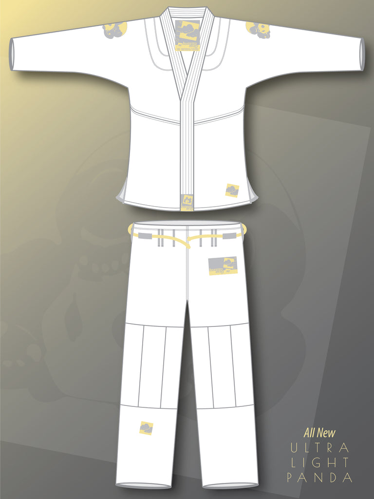White Ultra Light Pearl Weave Gi
