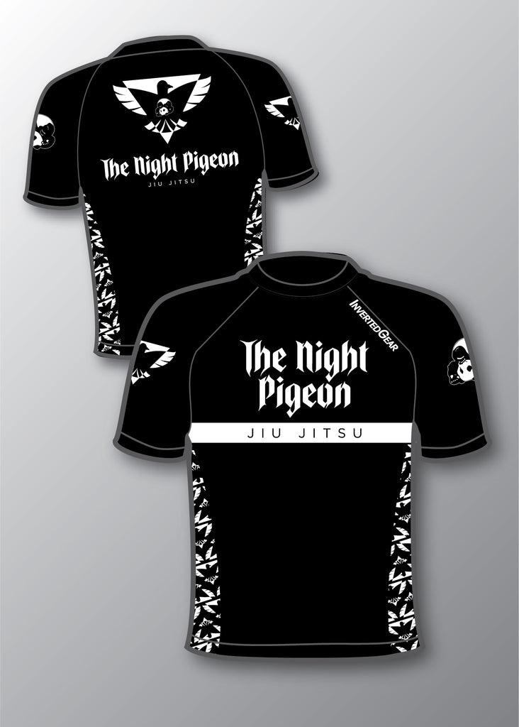 Night Pigeon Collaboration Rashguard