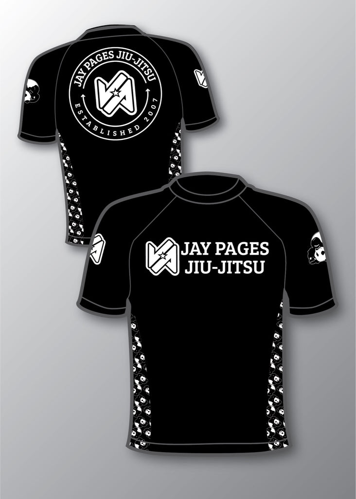 Jay Pages collaboration rashguard