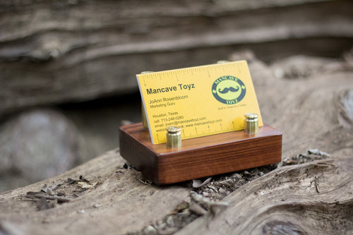 TX BUSINESS CARD HOLDER (OAK)